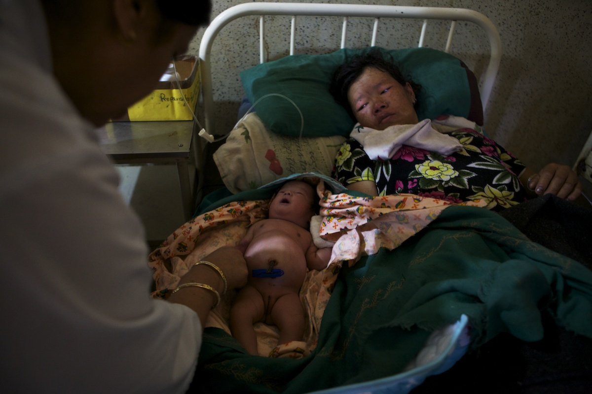 Baglung District Hospital Maternity Ward - 26 June 2011